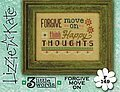 3 Little Words - Forgive Move On  - Cross Stitch Pattern