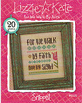 For We Walk By Faith - Cross Stitch Pattern