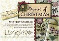 Lizzie Kate Spirit of Christmas Mystery Sampler Part 1