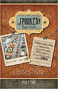 Lizzie Kate Spooked Mystery Sampler Part 2
