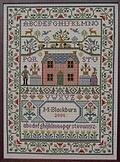 Country Cottage Sampler - Cross Stitch Pattern