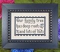 Our Family Tree - Cross Stitch Pattern
