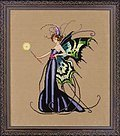 August Peridot Fairy - Mirabilia Cross Stitch Pattern