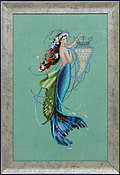 Siren and the Shipwreck - Mirabilia Cross Stitch Pattern