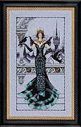 The Raven Queen - Cross Stitch Pattern