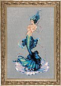 Aphrodite Mermaid - Cross Stitch Pattern