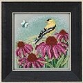 Goldfinch - Beaded Cross Stitch Kit