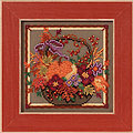 Autumn Basket - Beaded Cross Stitch Kit