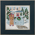 Holiday Memories - Beaded Cross Stitch Kit