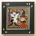 Trick or Treat Collage - Beaded Cross Stitch Kit