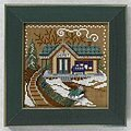 Train Depot - Beaded Cross Stitch Kit
