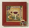 Vino Rosso - Beaded Cross Stitch Kit
