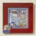 Seaside Sampler - Beaded Cross Stitch Kit