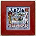 Jingle Bells - Beaded Cross Stitch Kit