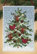 Cardinal Tree - Beaded Cross Stitch Kit