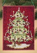 Victorian Tree - Beaded Cross Stitch Kit