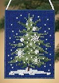 Snowflake Tree - Beaded Cross Stitch Kit