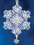 Amethyst Crystal - Beaded Cross Stitch Kit