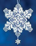 Sapphire Crystal - Beaded Cross Stitch Kit