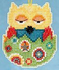 Emma (Owlets) - Beaded Cross Stitch Kit