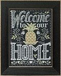 Welcome Home - Chalkboard Quartet - Cross Stitch Kit