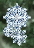 Snowflakes - Beaded Cross Stitch Kit