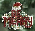 Be Merry - Christmas Cross Stitch Kit