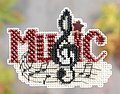 Music - Beaded Cross Stitch Kit