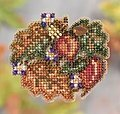 Autumn Circle - Beaded Cross Stitch Kit