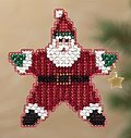 Star Santa - Beaded Cross Stitch Kit