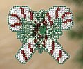 Candy Canes - Beaded Cross Stitch Kit