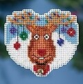 Reindeer Games - Beaded Cross Stitch Kit