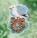 Seagull - Beaded Cross Stitch Kit