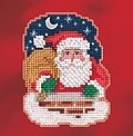 Down the Chimney - Beaded Cross Stitch Kit