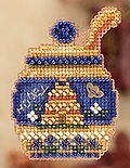 Honey Pot - Beaded Cross Stitch Kit