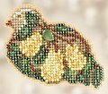 Pear Tree Partridge - Beaded Cross Stitch Kit