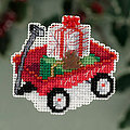 Red Wagon - Beaded Cross Stitch Kit