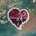 Treasured Heart - Beaded Cross Stitch Kit
