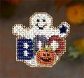 Boo Ghost - Beaded Cross Stitch Kit