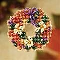 Fall Wreath - Beaded Cross Stitch Kit