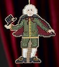 Drosselmayer - Beaded Cross Stitch Kit