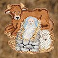 Baby Jesus - Beaded Cross Stitch Kit