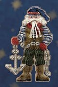 Boatswain Santa - Beaded Cross Stitch Kit
