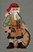 Jamestown Santa - Colonial Santas - Beaded Cross Stitch Kit