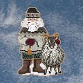 Greenland Santa - Arctic Circle - Beaded Cross Stitch Kit