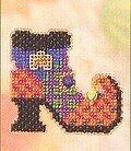 Wanda's Boot - Beaded Cross Stitch Kit
