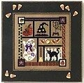 Spooky Collage - Beaded Cross Stitch Kit