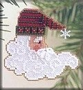 Twinkle Claus - Beaded Cross Stitch Kit
