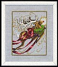 Rudolph - Christmas Eve Couriers - Cross Stitch Pattern