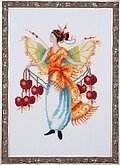 Bleeding Heart - Pixie Blossoms Collection - Cross Stitch Pa